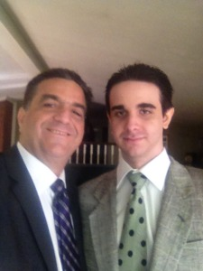 Spiffy selfie and son!