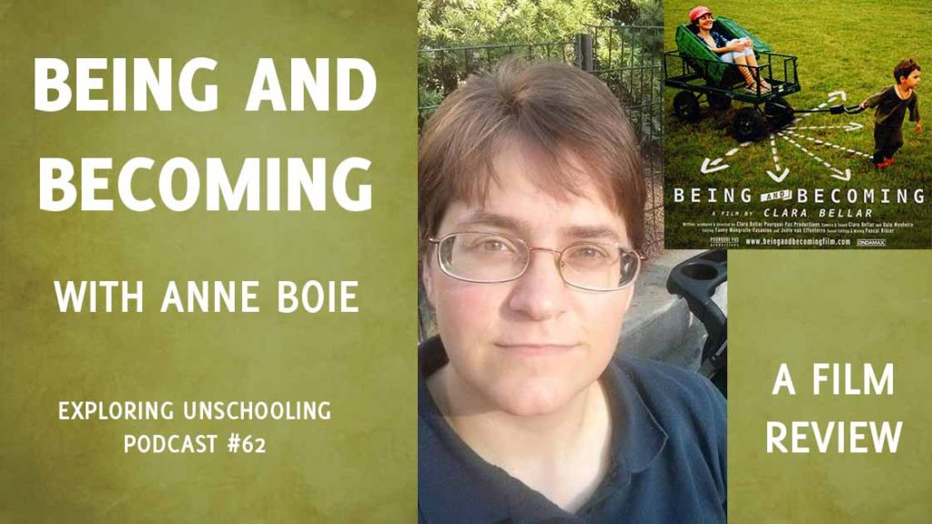 Anne Boie chats with Pam about the documentary film Being and Becoming by Clara Bellar.