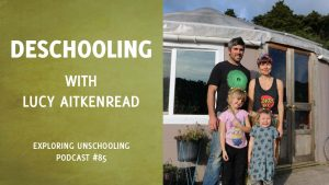 Lucy AitkenRead chats with Pam about deschooling.
