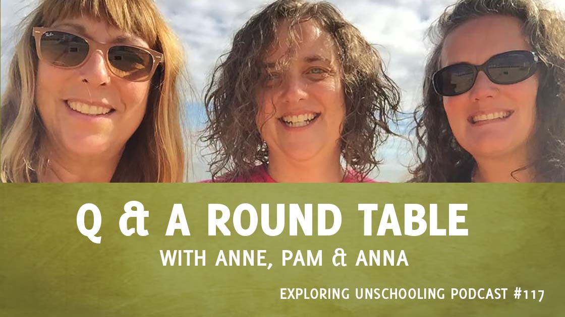 Anne Ohman joins Pam to answer listener questions about unschooling and parenting.