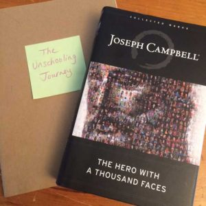 my journal and my book, The Hero with a Thousand Faces