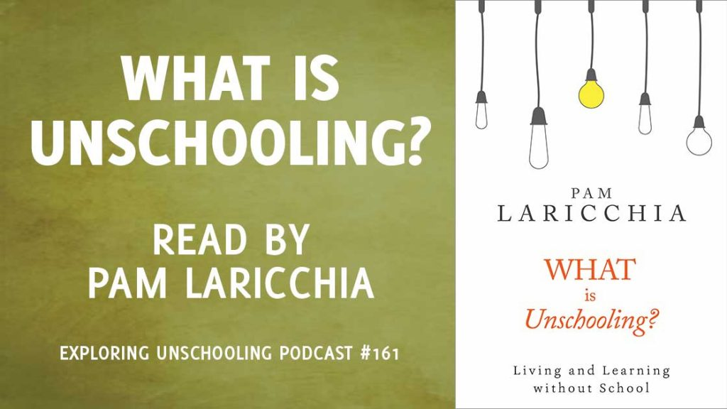 What is Unschooling? Written and read by Pam Laricchia
