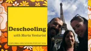 Marta Venturini chats with Pam about deschooling.